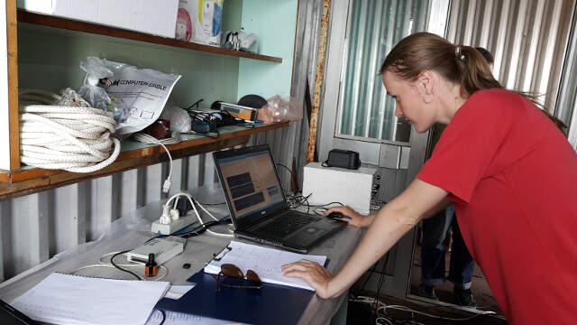 Аспирантка Ольга Шомина утверждает, сведения, которые здесь получают ученые, больше нигде получить нельзя.