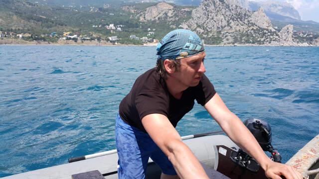 Александр Мольков хочет знать больше о море и океане, чтобы понимать, как формируется климат на планете.