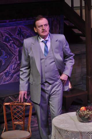 В роли Н. Букеева в спектакле «Яков Богомолов».