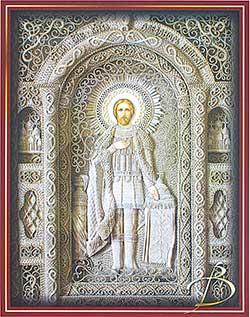 Икона «Святой Благоверный князь Александр Невский»