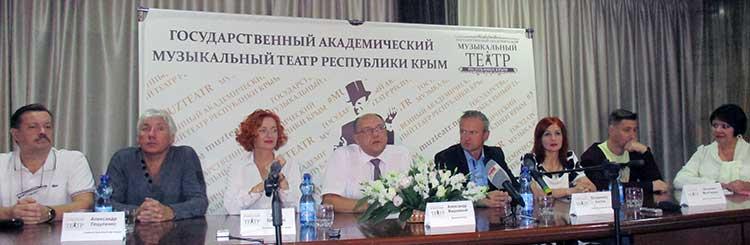 Участники пресс-конференции рассказали о предстоящих премьерах и текущем репертуаре театра